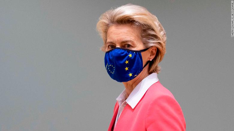 EU Commission President Ursula von der Leyen self-isolates after meeting with Covid-19 positive person
