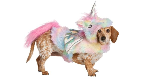 Thrills & Chills Pet Halloween Unicorn Pet Costume