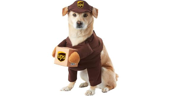 California Costumes Pet UPS Pal Dog Costume