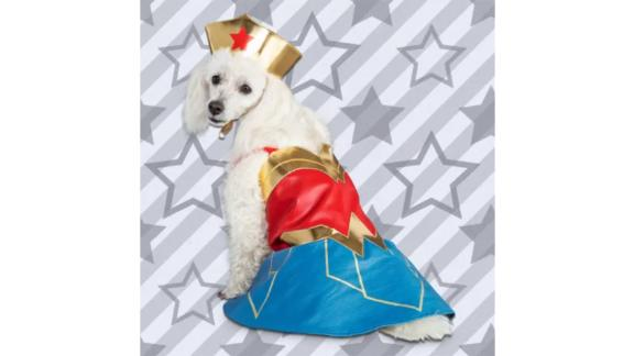 DC Justice League Wonder Woman Dog Suit
