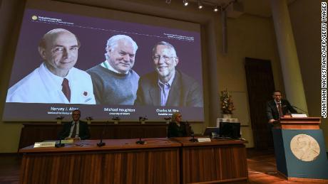 Nobel Prize in Medicine to US-UK trio for discovering the hepatitis C virus