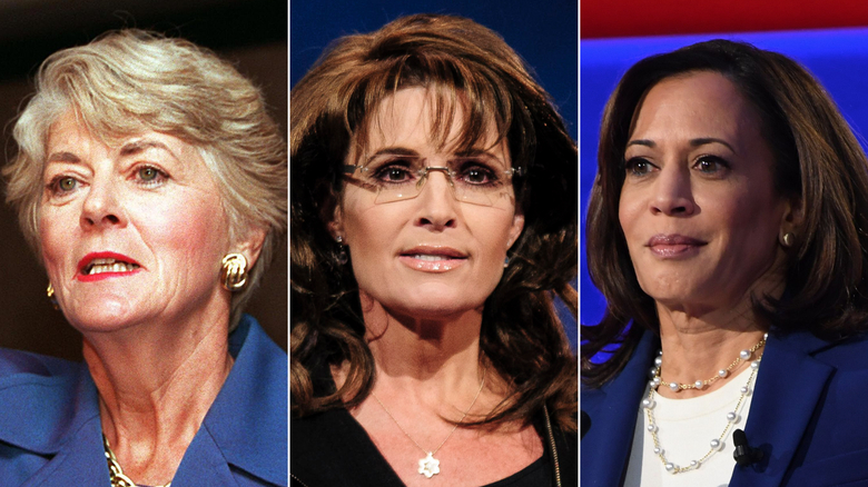 How Geraldine Ferraro and Sarah Palin set the stage for Kamala Harris