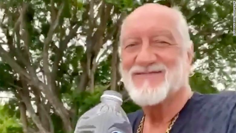 Mick Fleetwood joins TikTok to recreate viral longboard and 'Dreams' video