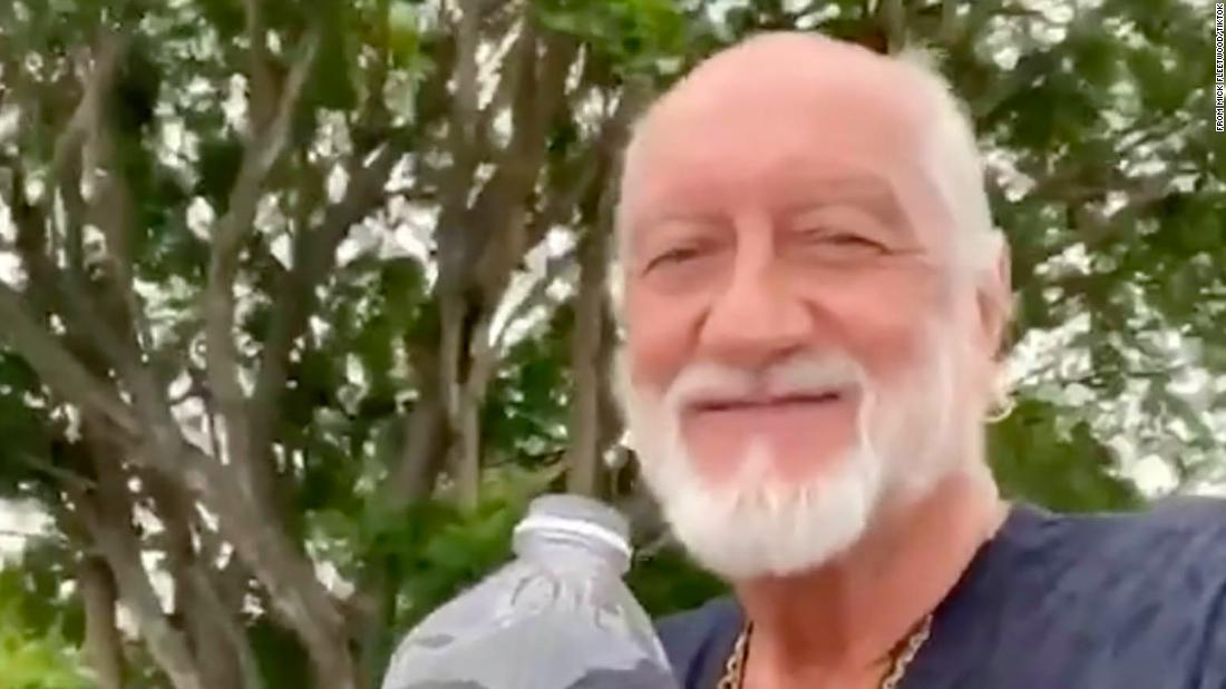 Mick Fleetwood Joins Tiktok To Recreate Viral Longboard And Dreams Video Cnn