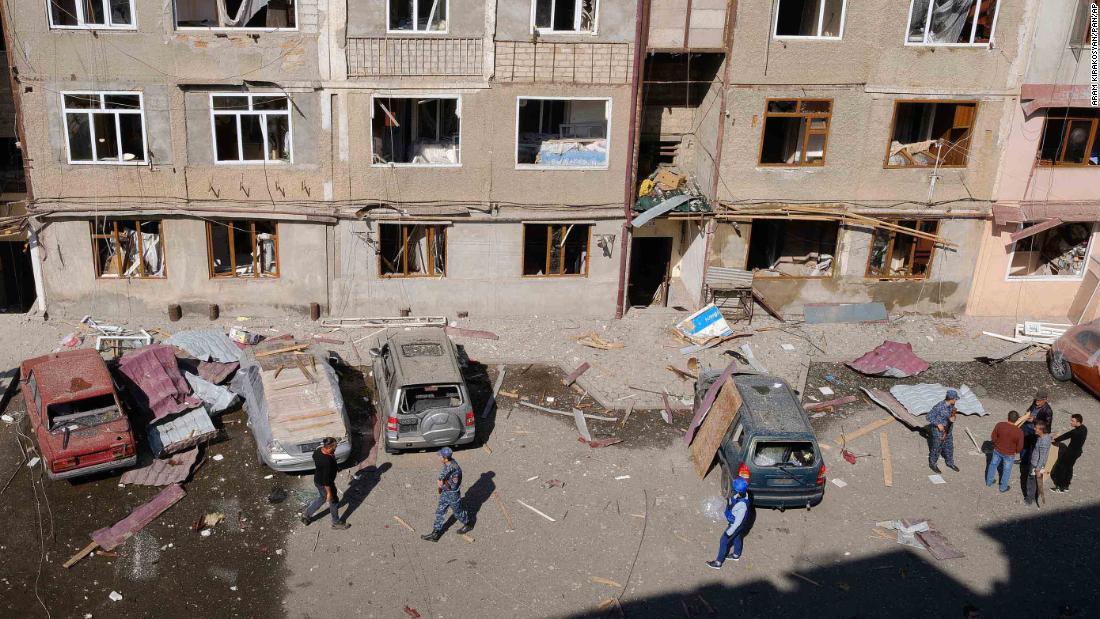 Armenia and Azerbaijan agree on a ceasefire Russian foreign ministry says – CNN