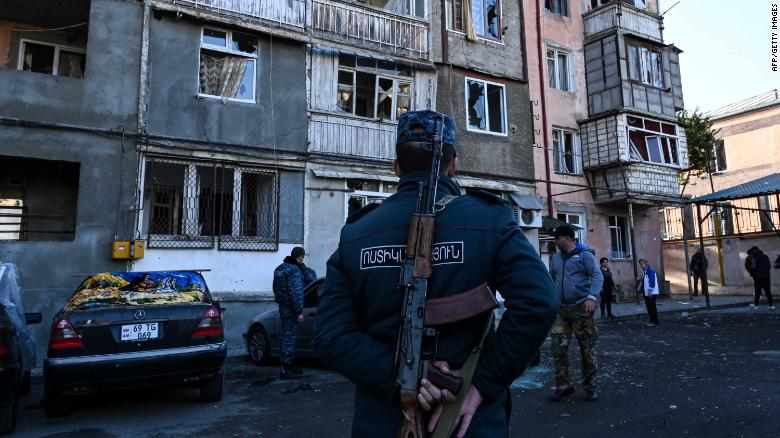 Armenia and Azerbaijan agree on a ceasefire, Russian foreign ministry says