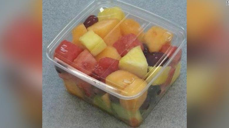 Apple and pineapple slices among fruit at Walmart recalled due to listeria threat