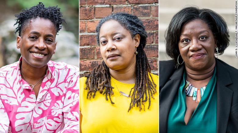 Trio of Black female authors among 21 MacArthur Foundation 'genius grant' winners