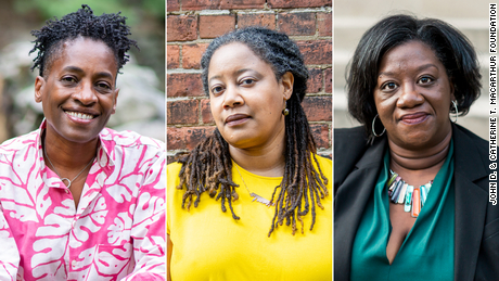 "Jacqueline Woodson, N.K. Jemisin and Tressie McMillan Cottom were among 21 winners of the 2020 MacArthur Foundation ""genius grants."""