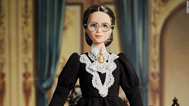 Mattel adds a Susan B. Anthony Barbie to its line of inspiring women just in time for Election Day