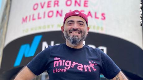 Nasser Jaber, founder of The Migrant Kitchen