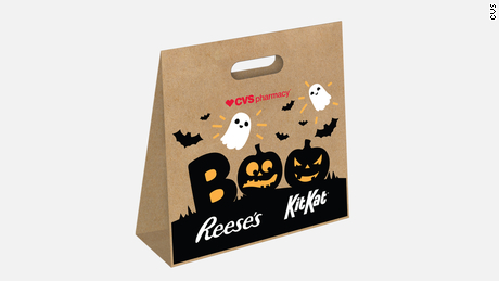 CVS is giving away free Boo bags with purchase.