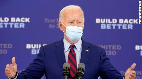Biden says Trump is 'responsible' for getting coronavirus
