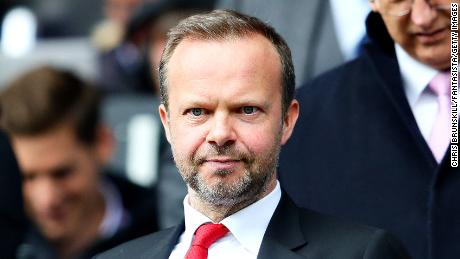 Ed Woodward. Manchester United's executive vice chairman.