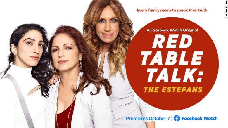 Gloria Estefan and family getting 'Red Table Talk'
