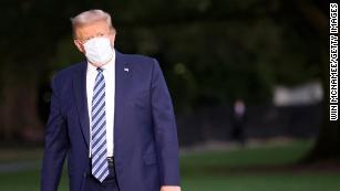 Trump mengutamakan kesehatannya karena dokter hanya mengungkapkan sedikit