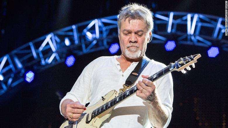 Eddie Van Halen dies at 65 after cancer battle