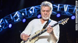 Eddie Van Halen dies at 65 after cancer battle