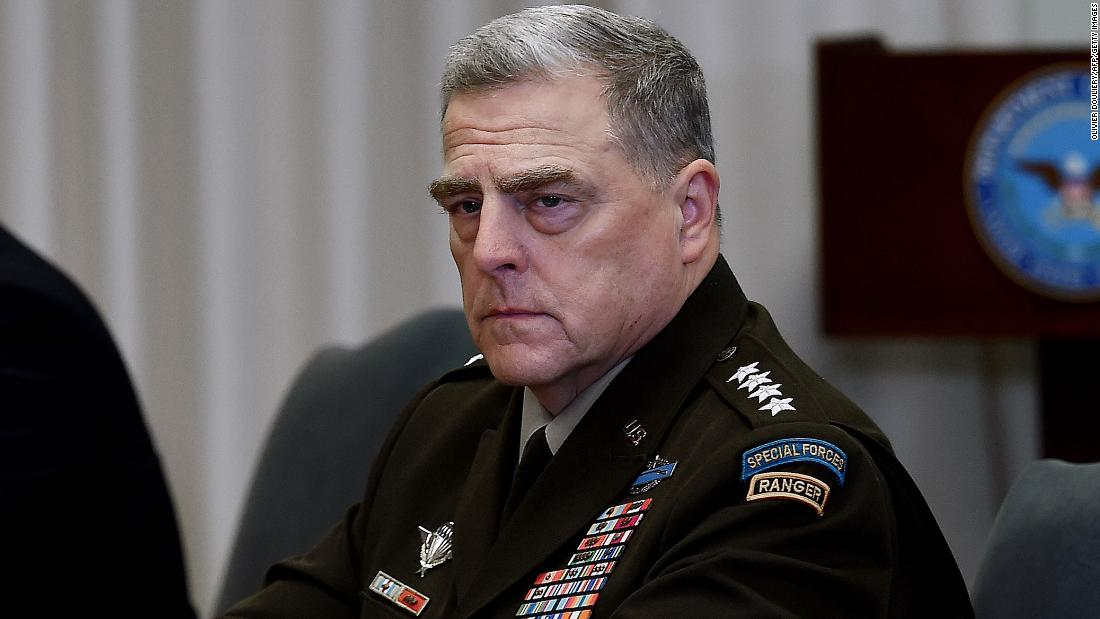 """Military Joint Chiefs condemn """"sedition and insurrection"""" at US Capitol – CNN"""