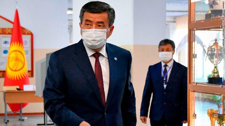 Kyrgyzstan president Jeenbekov resigns after unrest