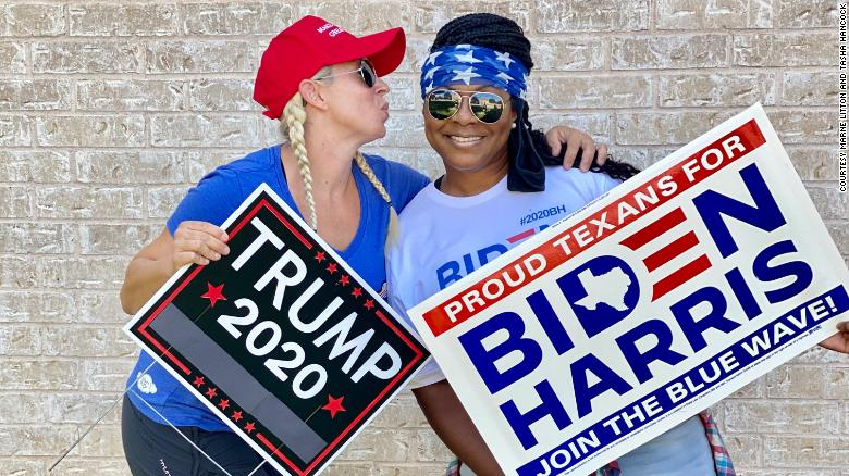 These neighbors show us love can still exist on opposing sides of politics
