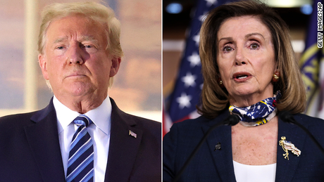 Trump's $1.8 trillion stimulus proposal faces opposition from Pelosi and Senate GOP