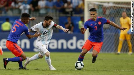 The two countries who pulled out of hosting this year's Copa America, Argentina and Colombia, battle it out in the 2019 tournament.