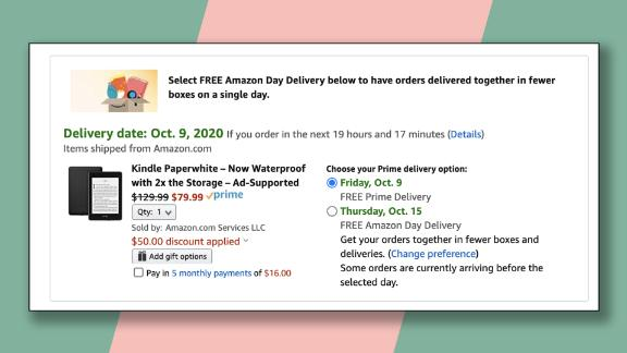 Get $50 off an Amazon Kindle by using just 1 Amex point.