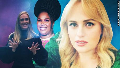 La forme physique personnelle de Rebel Wilson, Lizzo et Adele n'est que cela. Personnel.
