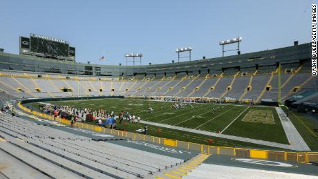 "The Green Bay Packers are putting an ""indefinite hold"" on allowing spectators into Lambeau Field."