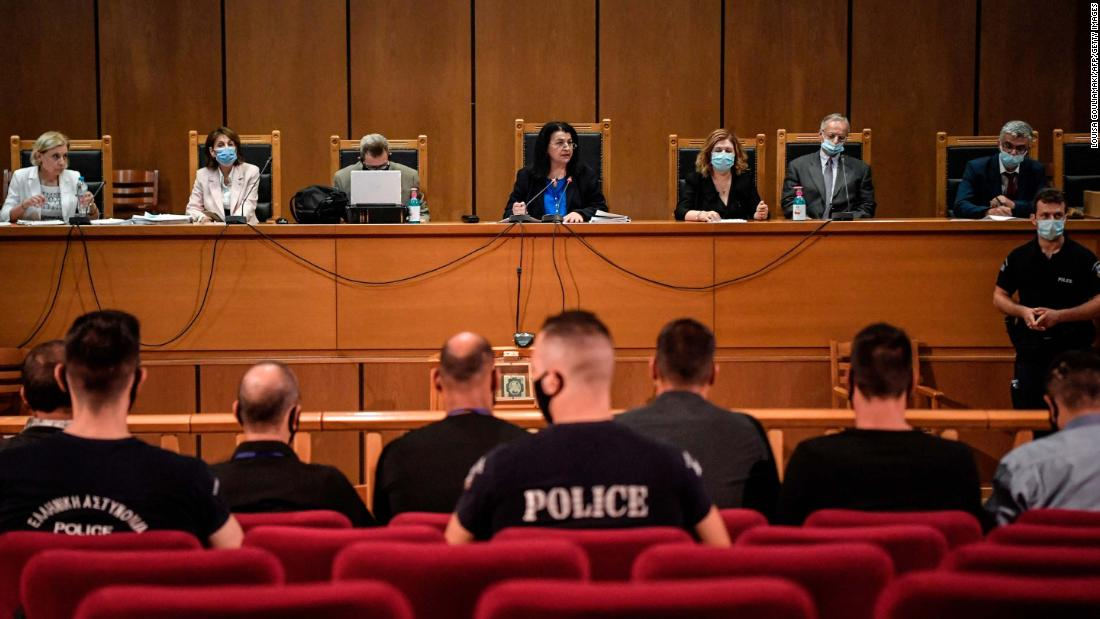 Greek court imposes jail terms on far-right Golden Dawn leaders