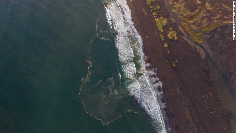 A suspected toxic spill in Russia's Far East has killed 95% of marine life on the seabed