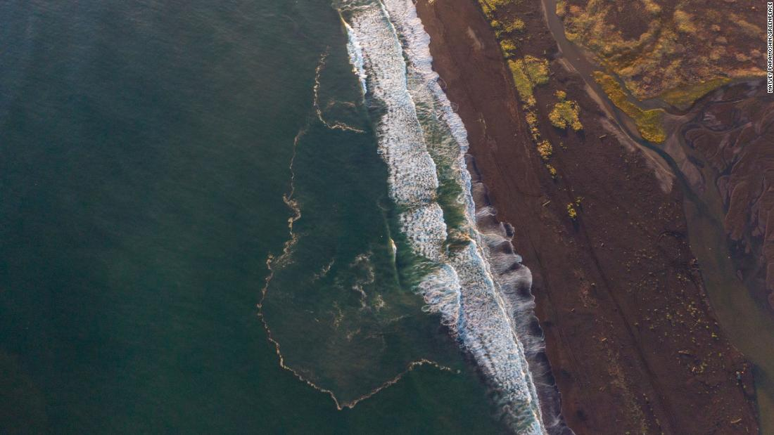 Suspected toxic spill in Russia has killed 95% of marine life on seabed