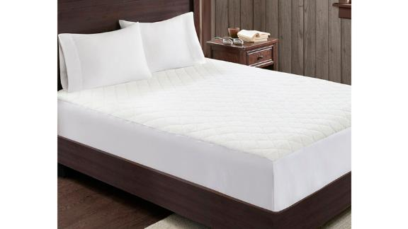 Woolrich Heated Sherpa Polyester Mattress Pad