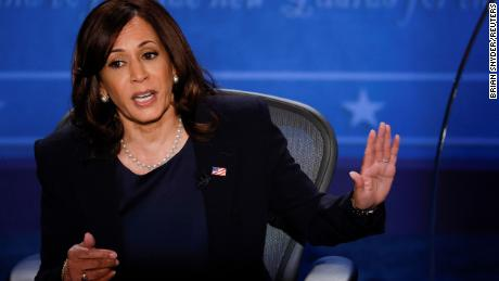 Harris' toughest debate opponent wasn't Pence but a stereotype
