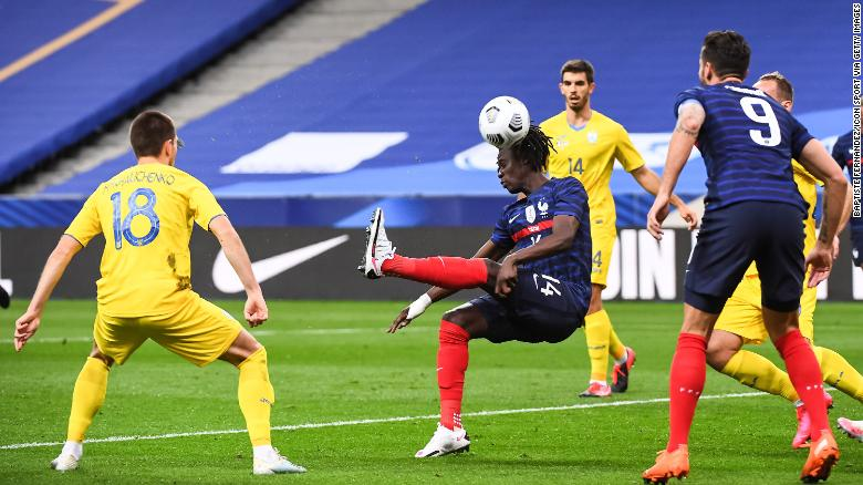 17-year-old Eduardo Camavinga becomes France's youngest goal scorer in over a century