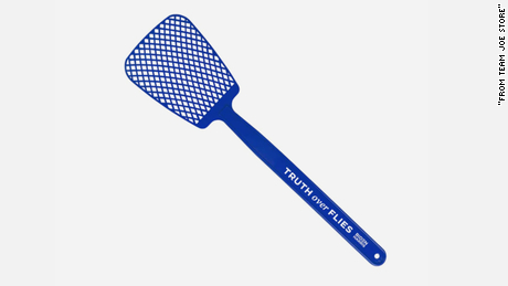 """Truth Over Flies"" fly swatter"