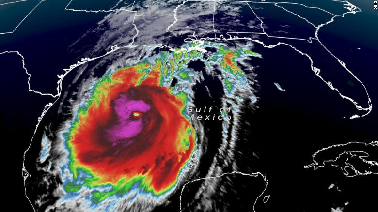 Hurricane Delta aims to hit Louisiana as a Category 2 storm, with ferocious  winds that could extend to Texas - CNN