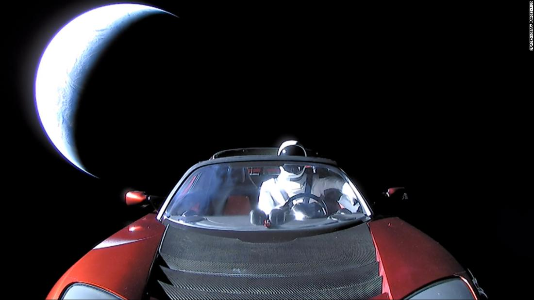 SpaceX's Tesla roadster made its first close approach with Mars – CNN
