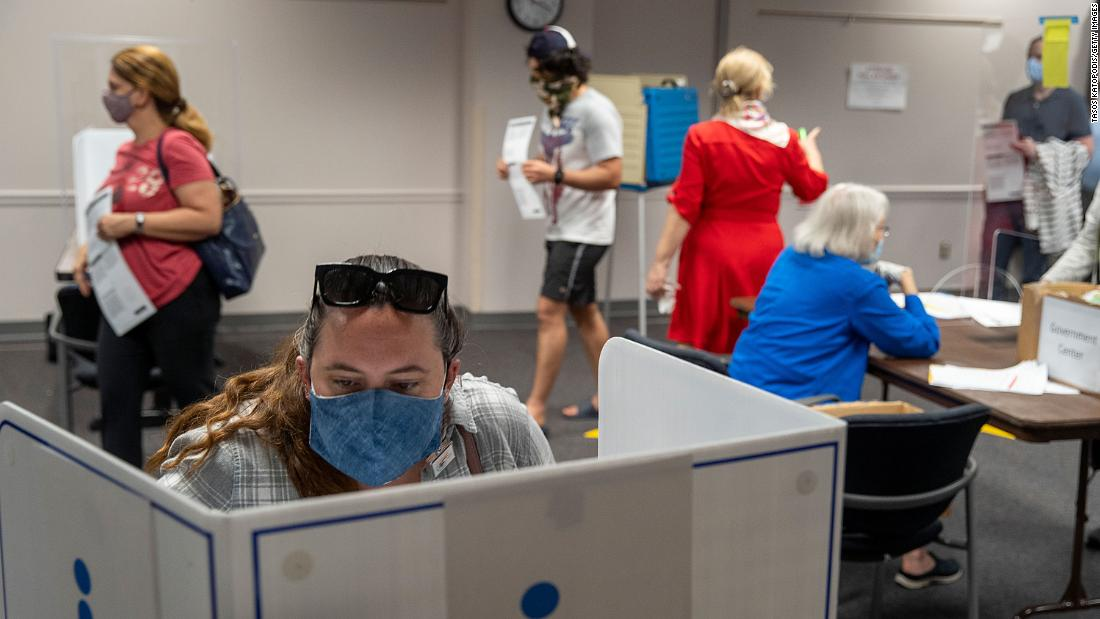 Voters won't have to wear masks in most states, but those who refuse may face special rules