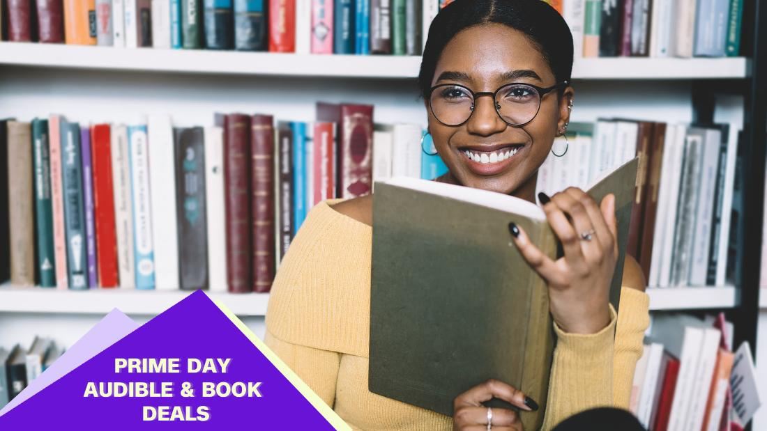 Get reading with these Audible and book deals for Prime Day