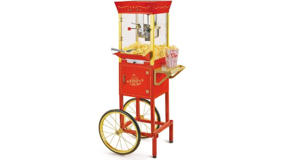 Nostalgia Concession Vintage Popcorn Cart
