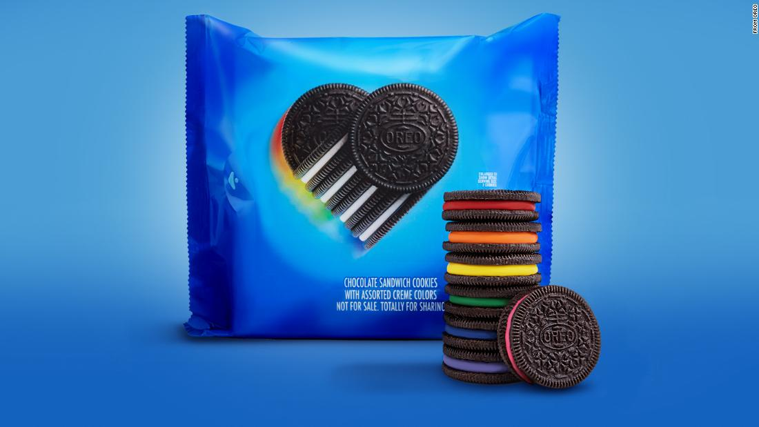 Oreo created limited edition rainbow cookies to celebrate LGBTQ+ History Month - CNN