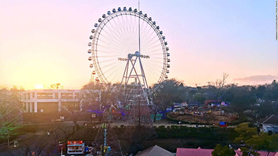 Image Japanese theme park lets you co-work from the Ferris wheel