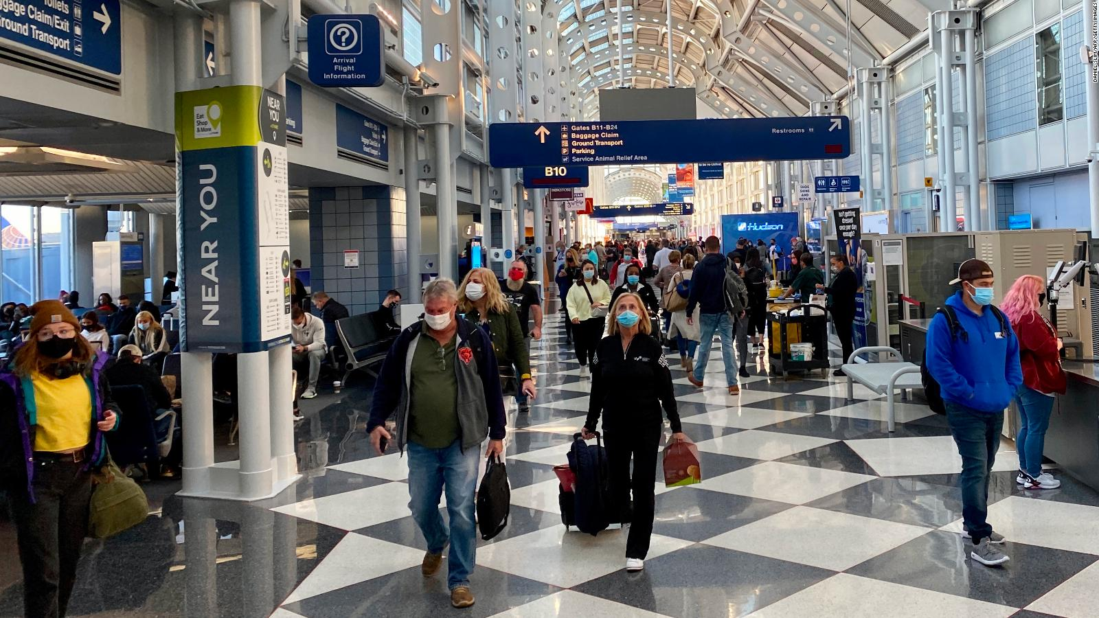 Busiest Car Travel Days Around Christmas 2021 Is It Safe To Travel For The Holidays During The Pandemic Cnn Travel