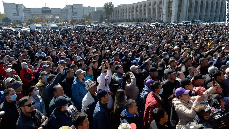 State of emergency in Kyrgyzstan as troops deployed amid growing unrest