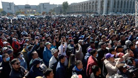 State of emergency in Kyrgyzstan as troops deployed amid growing unrest