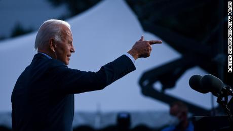 Joe Biden's polling better than any challenger since 1936