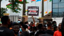Nigeria dissolves controversial police unit accused of brutality