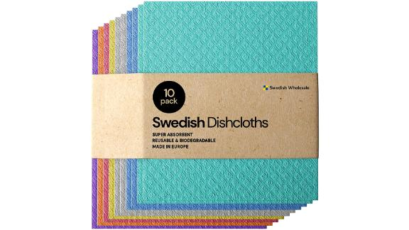 Swedish Dishcloth Cellulose Sponge Cloths